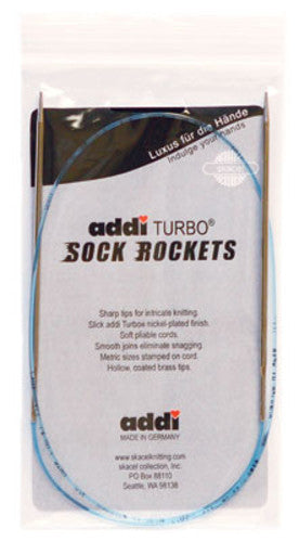 "Addi - Turbo Rocket 16"" Circular Needles"