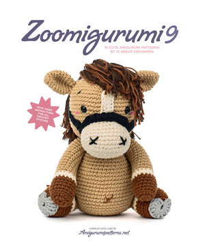 Zoomigurumi 9: 15 Cute Amigurumi Patterns by 12 Great Designers