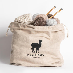 Blue Sky Fibers - Drawstring Project Bag