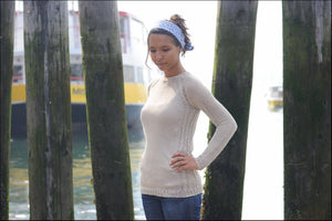 Coastal Knits: A Collaboration between Friends on Opposite Shores by Alana Dakos & Hannah Fettig
