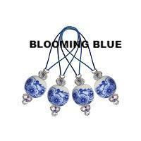 Knitter's Pride - Blooming Blue Stitch Markers