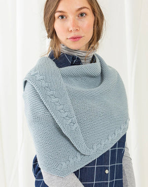 Brunch Shawl by Melanie Rice - Magazine Kit