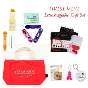 "ChiaoGoo - 5"" TWIST MINI Red Lace Interchangeable Gift Set"
