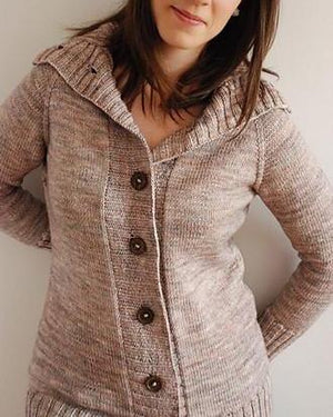 Calligraphy Cardigan by Hannah Fettig - Gift Set with Home & Away Book PRE-ORDER