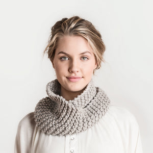 Crystal Cowl by  Nancy Ekvall