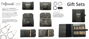 "LYKKE - Driftwood 5"" Interchangeable Needle Set (US 4-17)"