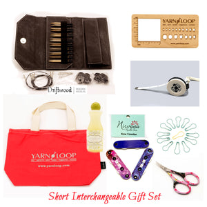 "LYKKE - Driftwood 3.5"" Interchangeable Needle Gift Set"