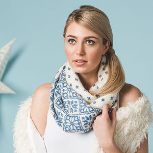 Flurries Cowl by Heather Zoppetti