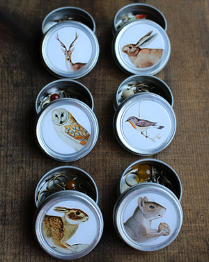 Forest Friends Mini Tins by Firefly Notes