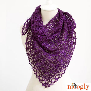 Fortune's Shawlette by Tamara Kelly