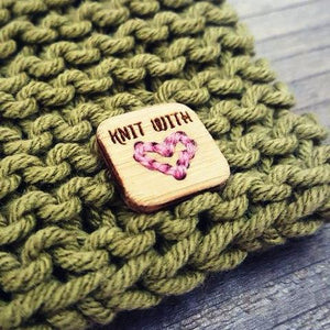 Katrinkles - Knit with Love Tags