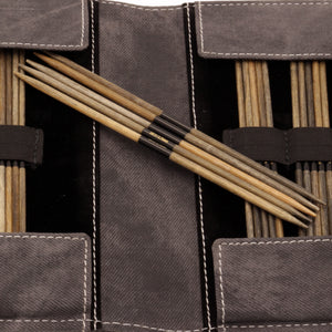 "LYKKE - Driftwood 6"" Double-Pointed Knitting Needle Set US 6-13"