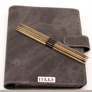 "LYKKE - Driftwood 6"" Double-Pointed Knitting Needle Set US 0-5"