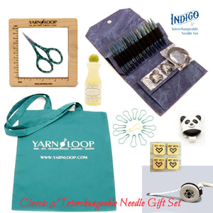 "LYKKE - Indigo 5"" Interchangeable Needle Gift Set (US 4-17)"