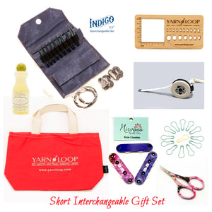"LYKKE - Indigo 3.5"" Interchangeable Needle Gift Set"