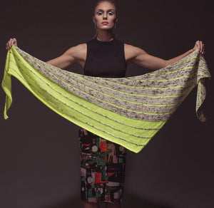 Kline Shawl by Jennifer Dassau