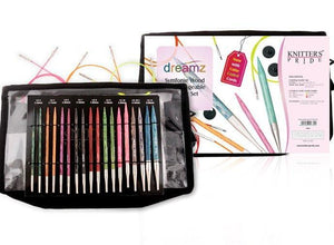 "Knitter's Pride - Dreamz 4.5"" Deluxe Interchangeable Needle Set US 4-11"