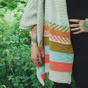 Om Shawl by Andrea Mowry