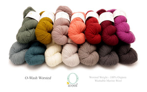 O-Wool - O-Wash Worsted