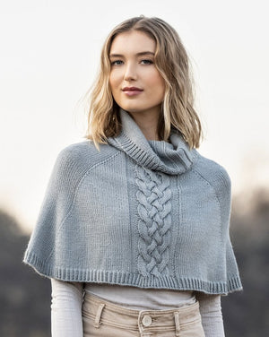Calgary Capelet by Mary Pranica