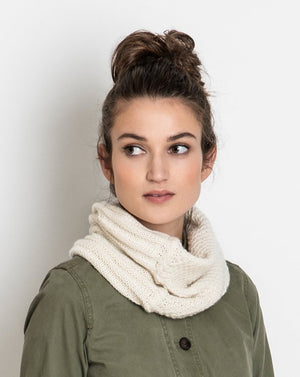 Circle Pines Cowl by Sylvia Hager