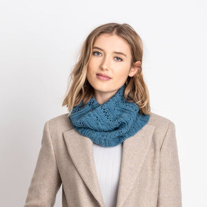 Coldwater Cowl by Virginia Sattler-Reimer