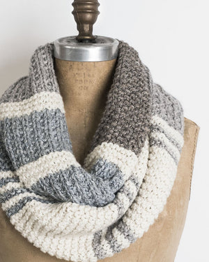 Blue Earth Cowl by Nancy Ekvall