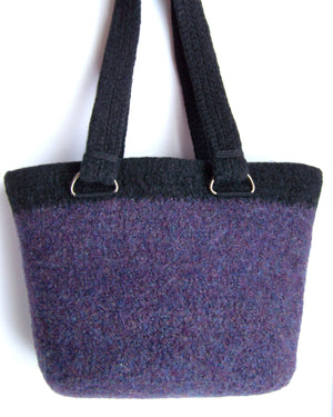 Perfect Felted Bag by Melanie Rice