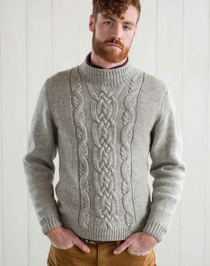 Sandy Neck Pullover by Moira Engel