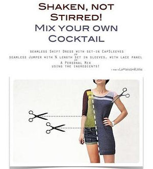 Cocktail(Dress) by La Maison Rililie with E-Book Collection