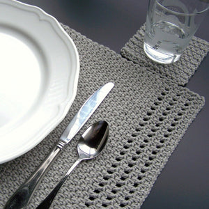 Simply Elegant Placemat by Melanie Rice
