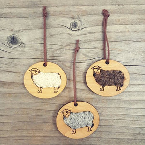 Katrinkles - Sheep Ornament