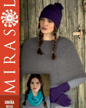 Umiña Cape, Gloves, Hat & Neck Roll 5145 by Jenny Watson