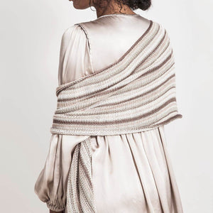 Windom Silk Wrap by Virginia Sattler-Reimer