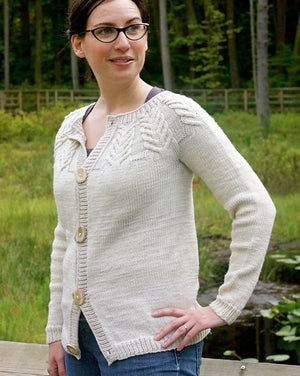 Antler Cardigan (Child) by Tin Can Knits