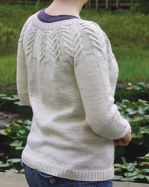 Antler Cardigan (Adult) by Tin Can Knits