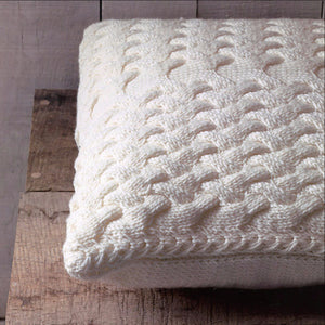 Apple-Pie Pillow Cover by Ruth Cross - Gift Set with Knits at Home Book