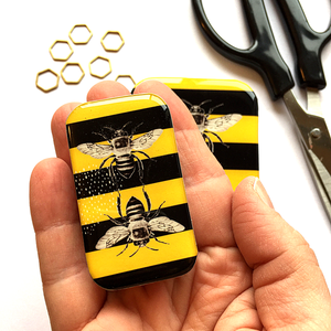 Bee Notions Tin by Firefly Notes