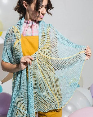Headwind Shawl by Jennifer Miller