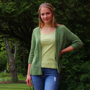Brookgreen Cardi by Fogbound Knits