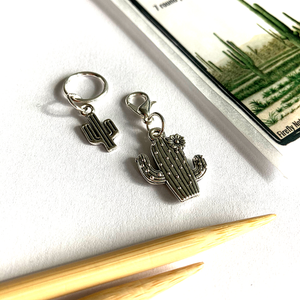 Cactus Stitch Marker Packs by Firefly Notes
