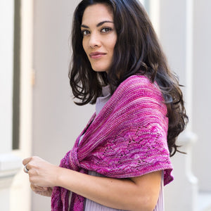 Chatsworth Crescent Shawl by Hanna Maciejewska