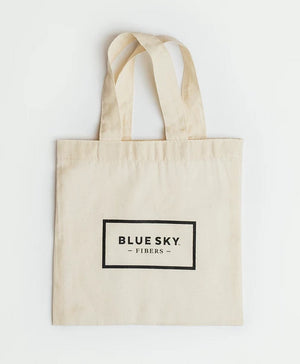 Blue Sky Fibers - Small Canvas Bag