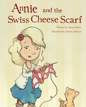 Annie & the Swiss Cheese Scarf by Alana Dakos PRE-ORDER