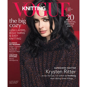 Vogue Knitting Late Winter 2018
