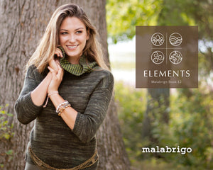 Book 12: Four Elements by Malabrigo