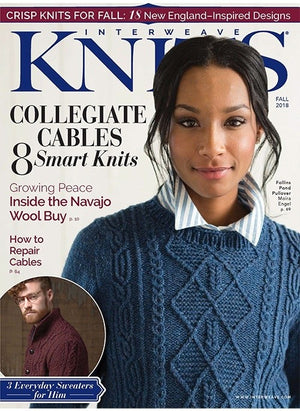 Sandy Neck Pullover by Moira Engel - Magazine Gift Set