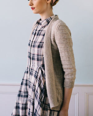 Eventide Cardi by Hannah Fettig - Gift Set with Texture Book