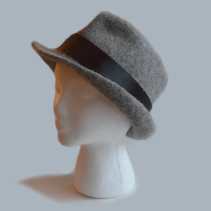 Fedora Felted Hat by Cynthia Pilon Designs