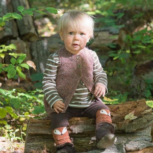 Little Shoreline Vest by Carrie Bostick Hoge - Gift Set with Swoon Maine